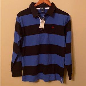 Ralph Lauren Boy's Rugby Shirt. Size 16/18